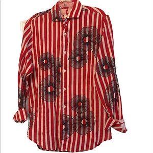 Button down linen shirt by Ganesh